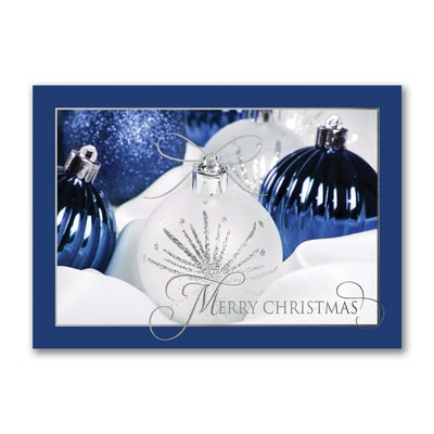 Dazzling Ornaments - Christmas Card