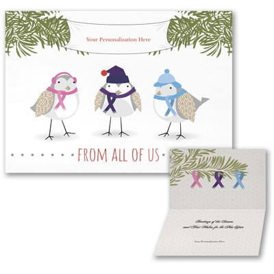 birds of a feather american cancer society - Holiday Cards For Charity
