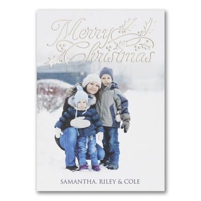 Holidazzle - Photo Christmas Card