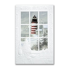 West Quoddy Light - Holiday Card