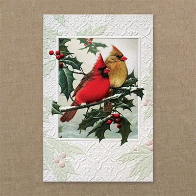 Christmas Cardinals - Christmas Card