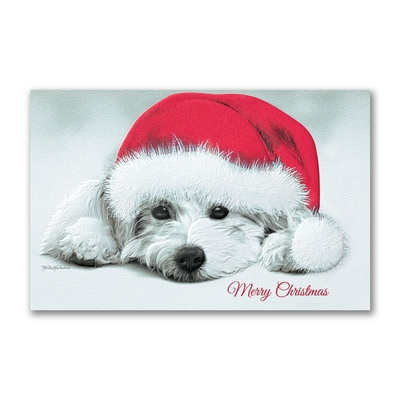 Christmas Puppy - Christmas Card