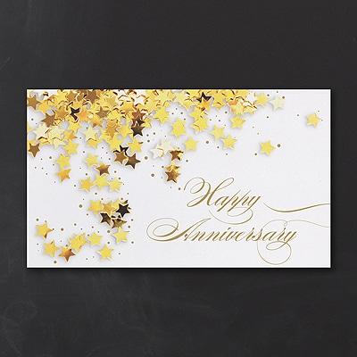 Gold Star Anniversary Card