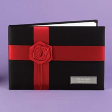 Midnight Rose Guest Book