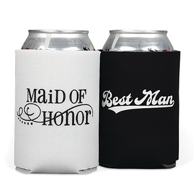 Maid of Honor/Best Man Can Coolers