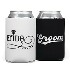Bride/Groom Can Coolers