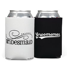 Bridesmaid/Groomsman Can Coolers