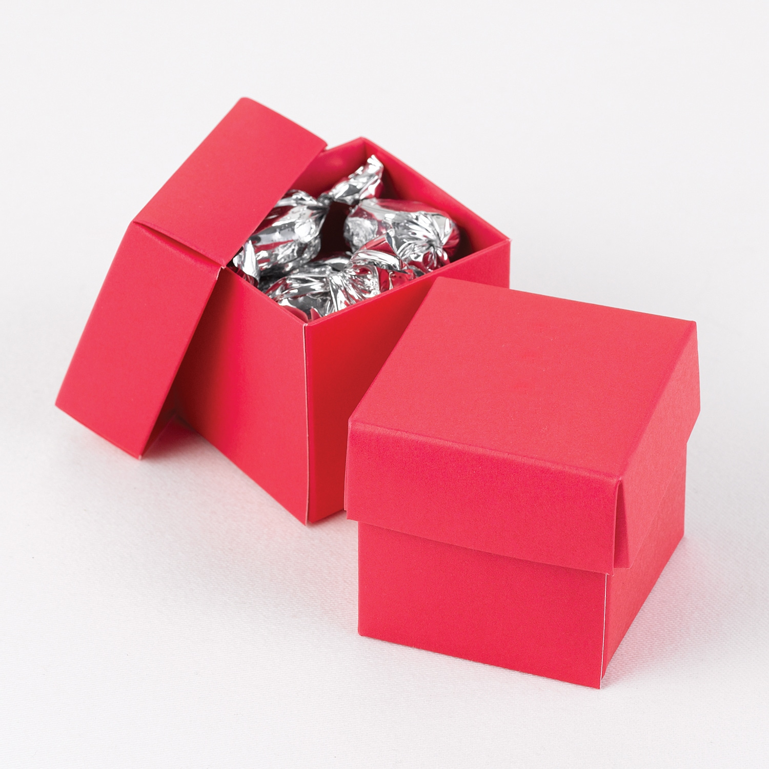 Two-Piece Favor Boxes - Fuchsia - Blank > Favors   Forever Friends ...