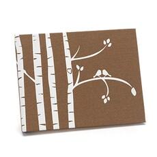 Birch Trees Guest Book -