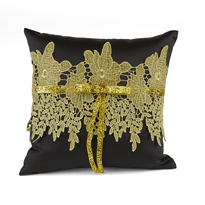 Golden Vintage - Ring Pillow