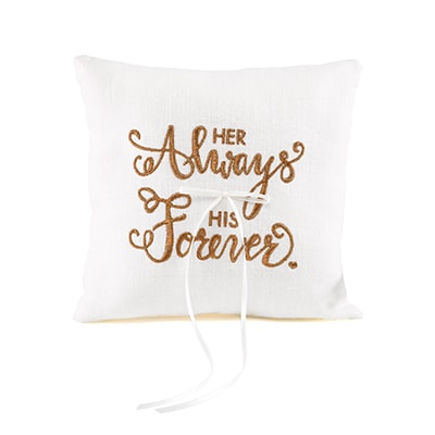 Always Forever - Ring Pillow