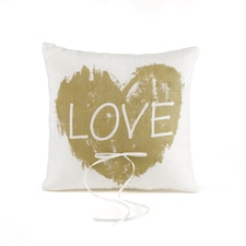 Brush of Love - Ring Pillow