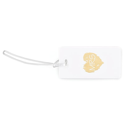 Brush of Love - Mrs - Luggage Tag