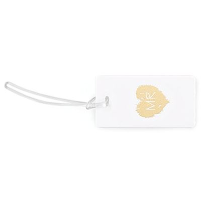Brush of Love - Mr - Luggage Tag