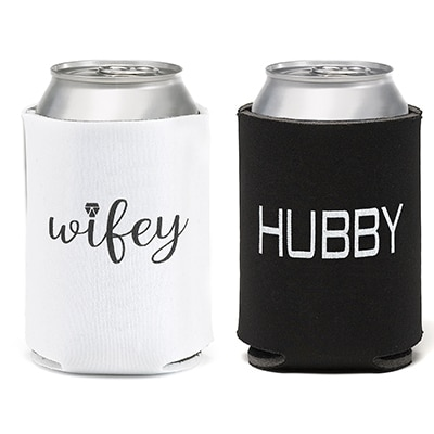 Wifey Hubby - Can Coolers