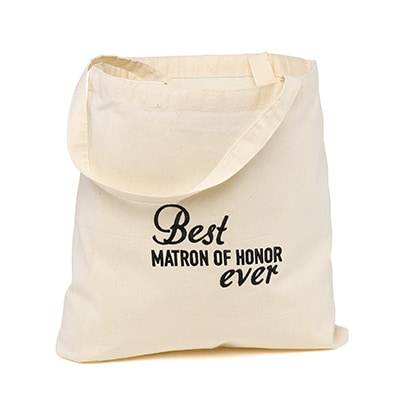 Best Ever Wedding Party - Tote Bag - Matron of Honor