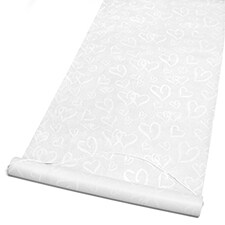 Linked Hearts Aisle Runner