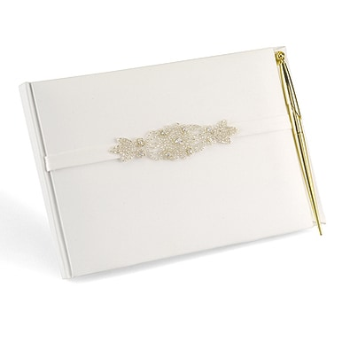 Classically Chic - Guest Book with Pen Set