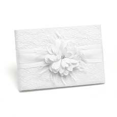 Layers of Lace Guest Book -
