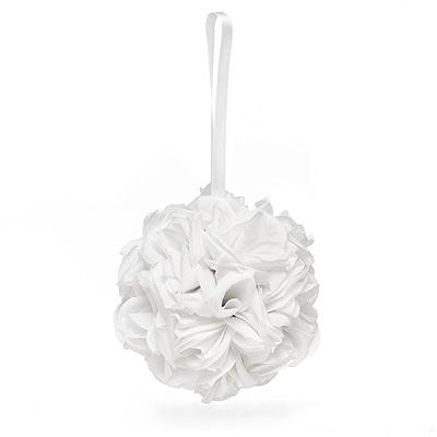 White Rose Kissing Ball