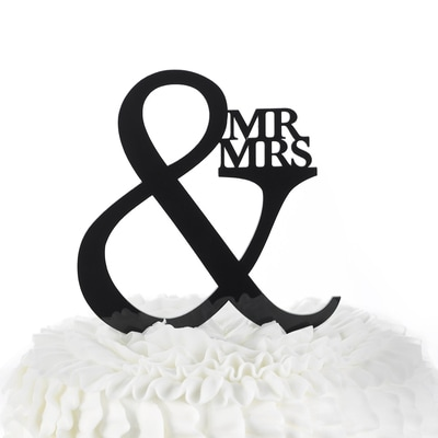 Mr. & Mrs. - Cake Pick