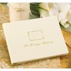 In Loving Memory Guest Book - Blank