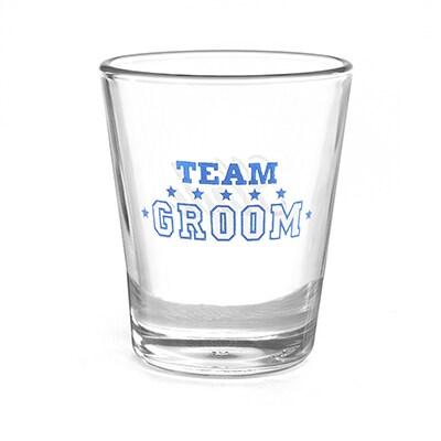 Team Groom - Shot Glass