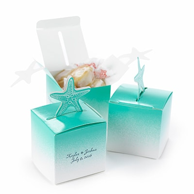 Starfish - Pop-Up Favor Boxes
