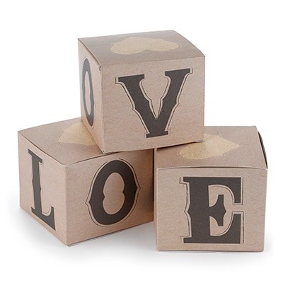 Rustic Love - Cupcake Box