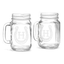 Horseshoe - Drinking Jar