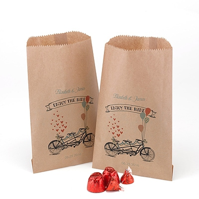 Tandem Treat Bags - Kraft