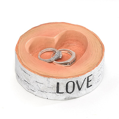 Rustic Love Ring Bowl