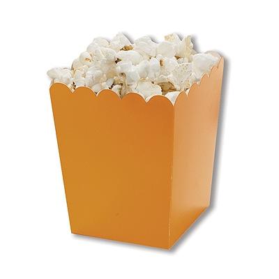 Mini Scallop Boxes - Orange