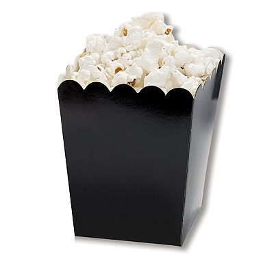 Mini Scallop Boxes - Black
