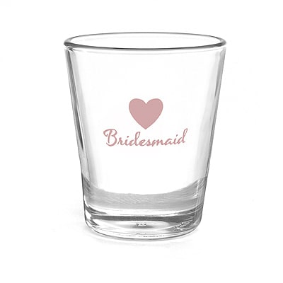 Heart Wedding Party - Shot Glass - Bridesmaid