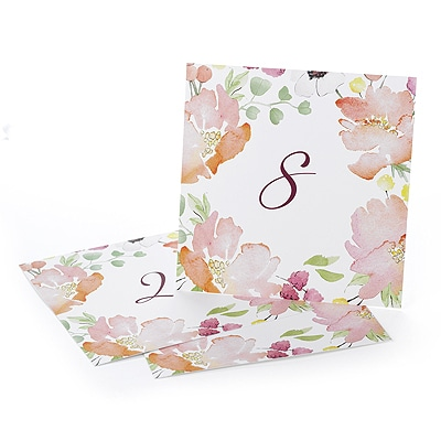 Floral Forever - Table Numbers