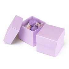 Two - Piece Favor Boxes - Ice Purple - Blank