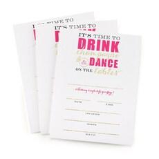 Champagne Dance Bachelorette Invitation -