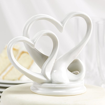Double Heart Cake Top