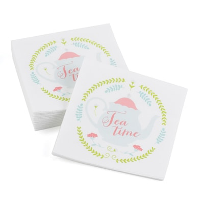 Tea Time - Beverage Napkins