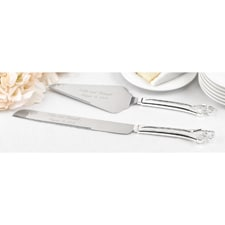 Entwined Hearts Serving Set