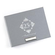 Silver Anniversary - Guest Book