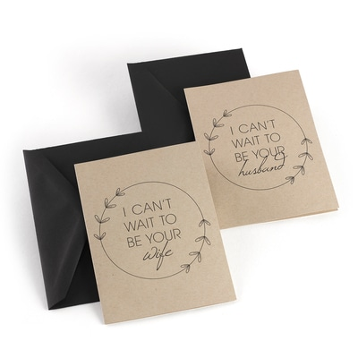 Marry Me - Wedding Day Card Set