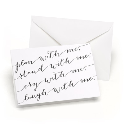 Plan with Me - Wedding Day Card