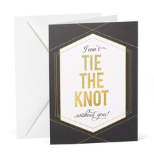 With Out You - Wedding Day Card