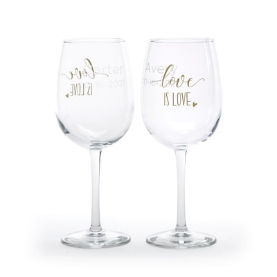 Love is Love - Wine Glasses