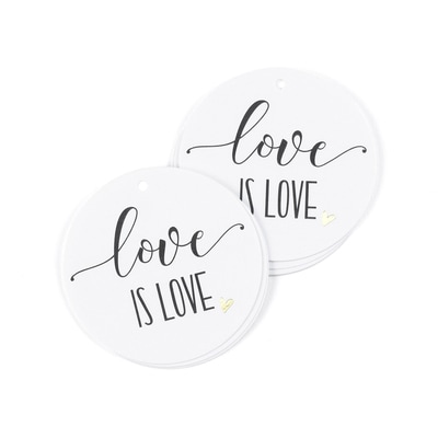 Love is Love - Favor Tag