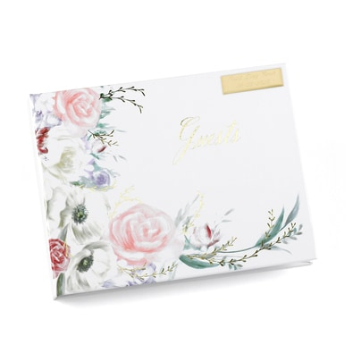 Ethereal Floral - Guest Book