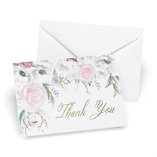 Thank You Card - Blank Inside