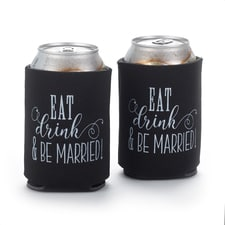 Eat, Drink, Be Married - Can Coolers